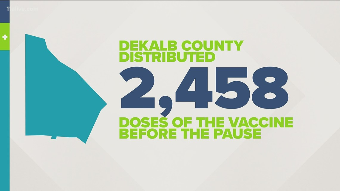 Dekalb Co. responds quickly to federal recommendation to pause J&J vaccine