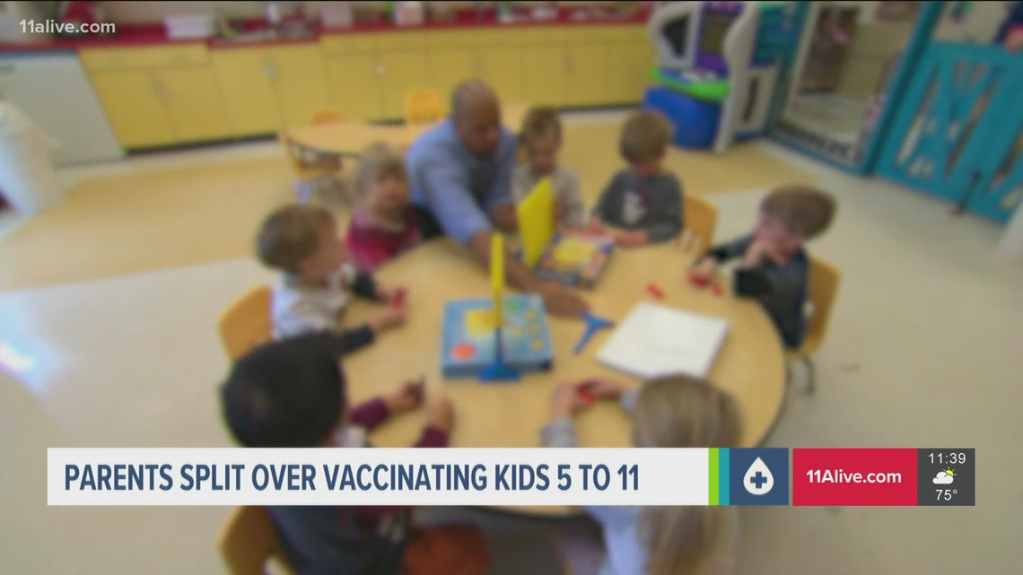 Covid-19 vaccine   Poll shows parents split on vaccine for 5 to 11-year-olds, CDC masks in schools