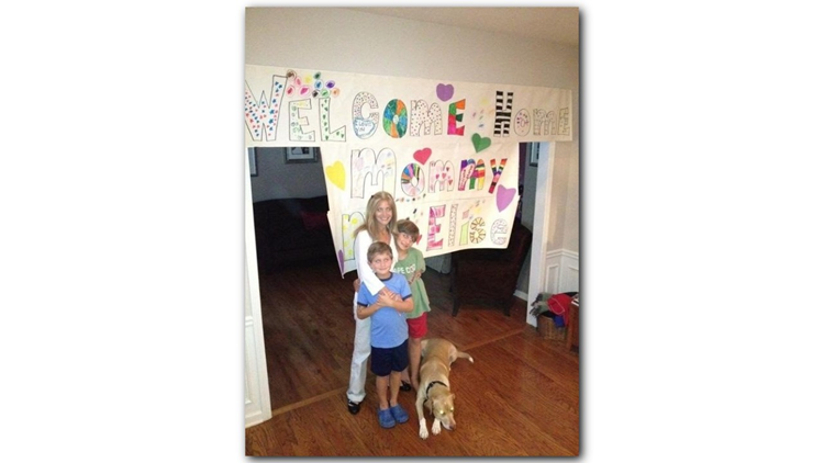 Elise Roth Tedeschi and her boys Jake and Ryan