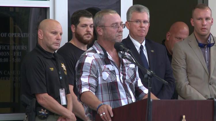 Hall county deputy vigil