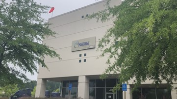 Nestle will close its Lawrenceville distribution center