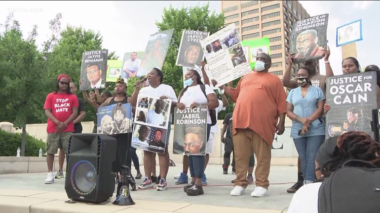Group marches in Atlanta on one-year anniversary of George Floyd's death