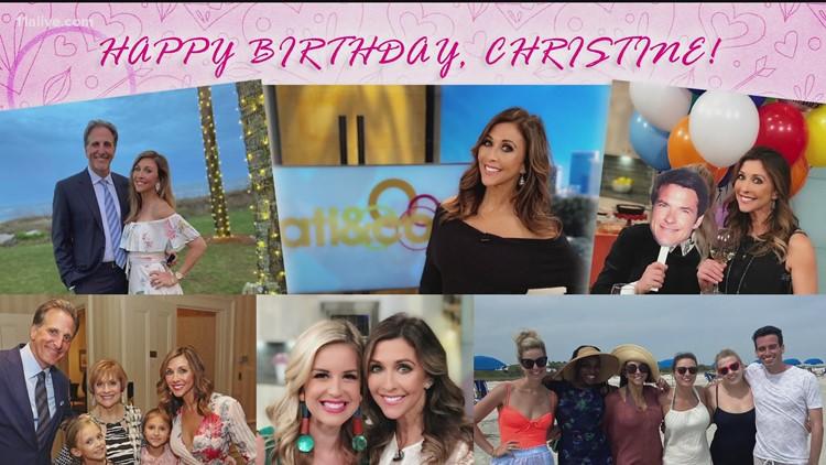 Happy Birthday, Christine!