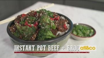 Instant Pot Beef & Broccoli Recipe with Georgia Beef Board