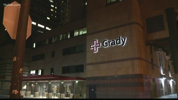 Water main break forces evacuation of patients at Grady Hospital