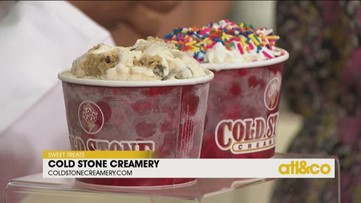 Summer treats with Cold Stone Creamery