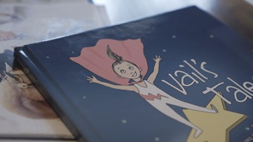 She died in her sleep at age 9. Her words have been turned into a children's book.