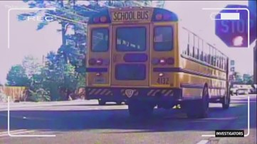 Videos show school bus drivers putting kids' lives at risk
