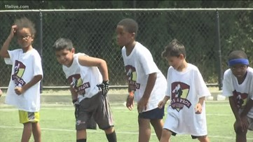 Miami Dolphins' wide receiver Brice Butler hosts star-studded camp in Norcross