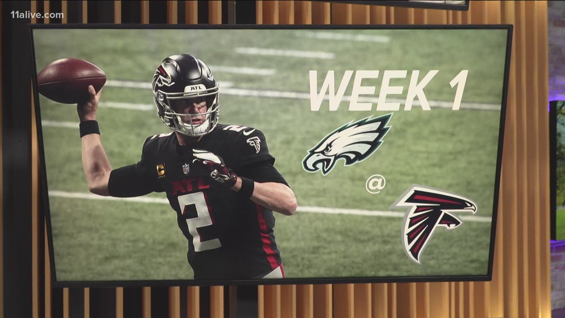 Falcons reveal two games off 2021 schedule