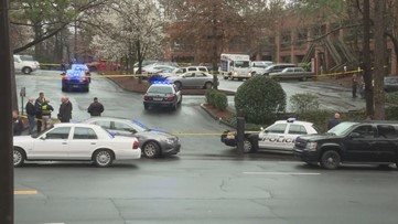 Man shooting into water truck stopped by police bullet