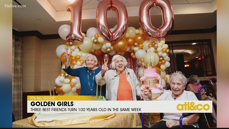 Three Best Friends Turn 100 Years Old Together