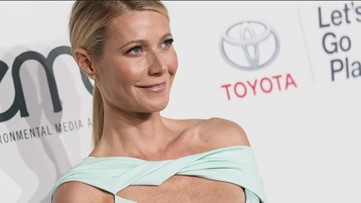 Modern living? Gwyneth Paltrow and her husband don't live together