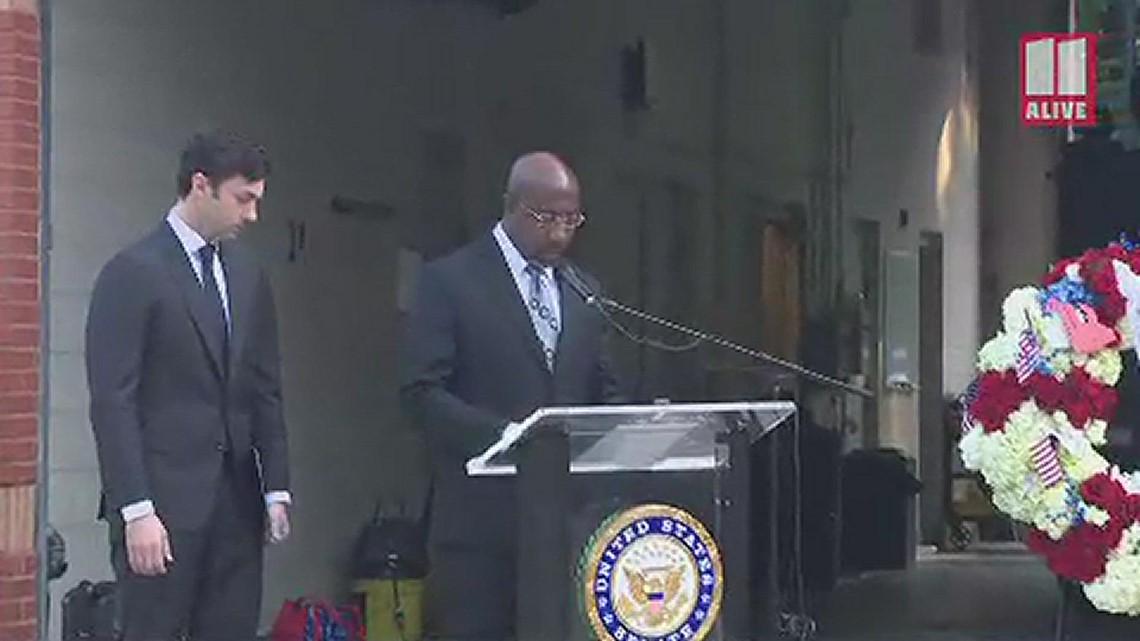 Sen. Rev. Raphael Warnock remarks at South Fulton 9/11 remembrance