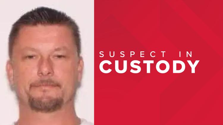 Suspect captured after massive manhunt following shooting that left Georgia deputy in critical condition