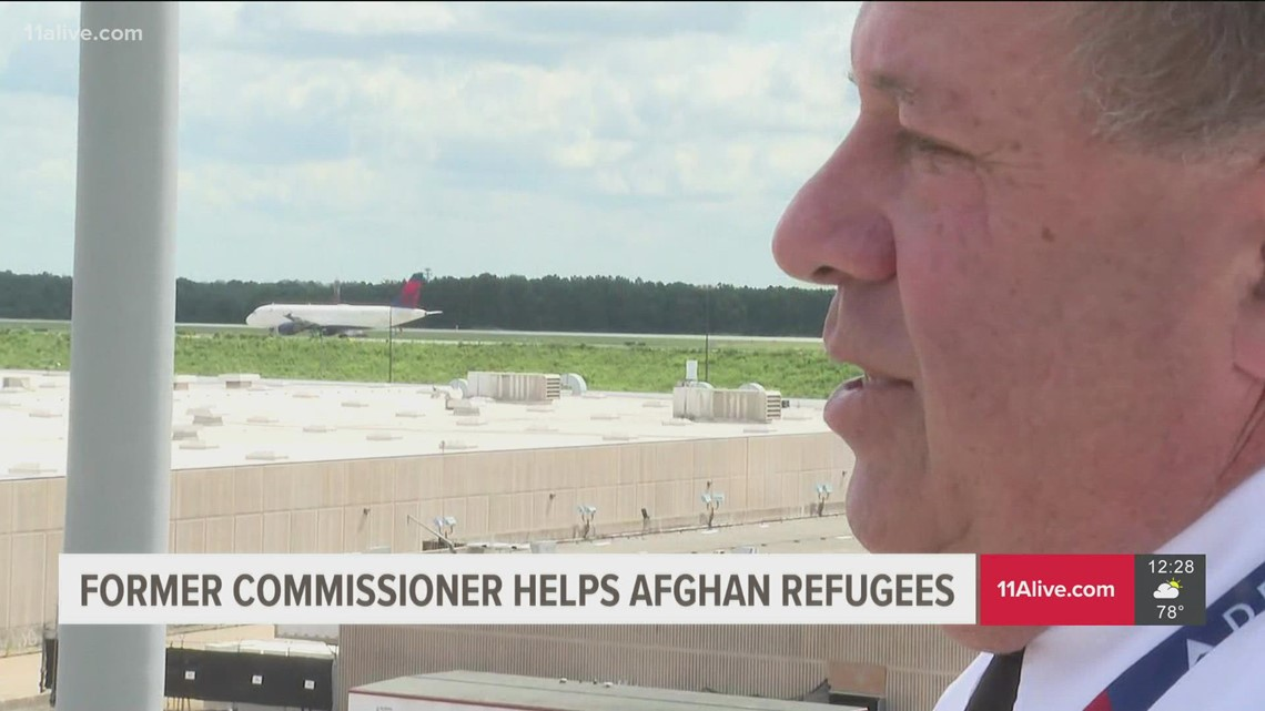 Former Cobb County commissioner helps Afghan refugees as Delta Air pilot