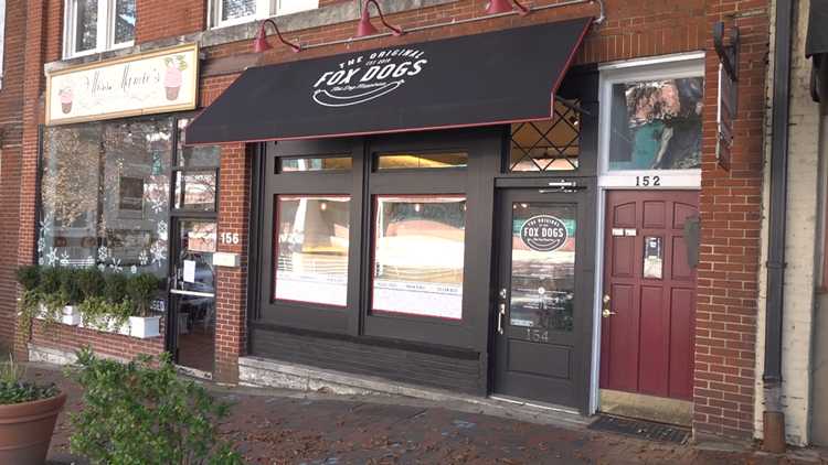 Fox Dogs open first brick and mortar shop on Marietta Square