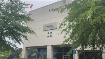 100 jobs lost in Lawrenceville with Nestle distribution center closure