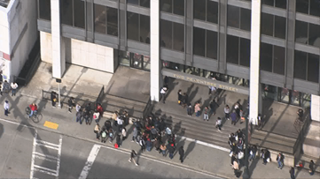 Suspicious package reported in downtown Atlanta