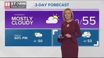Evening forecast Jan. 29, 2020