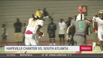 Hapeville Charter vs. South Atlanta highlights (October 11)