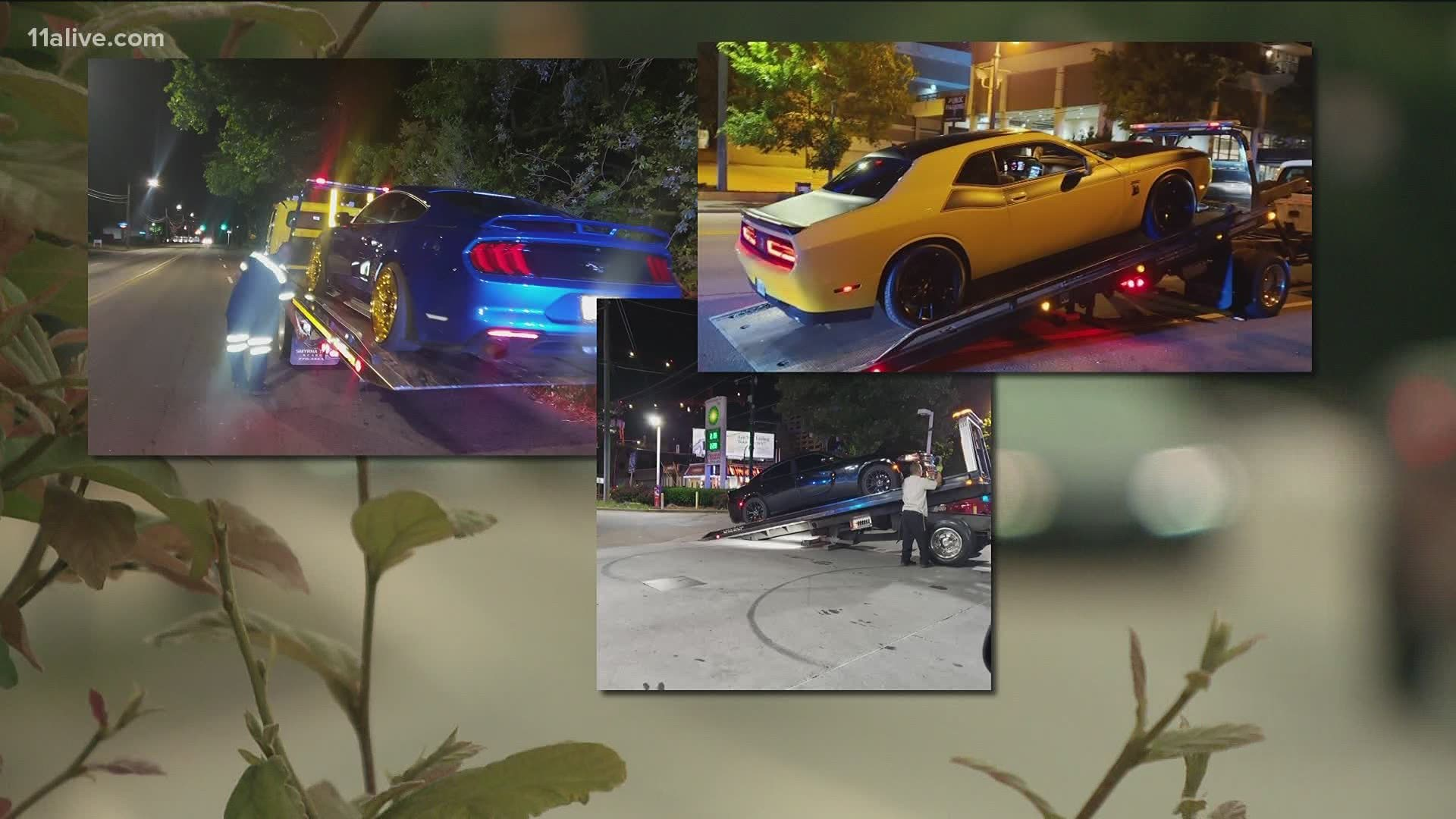 Atlanta Street Racing Arrests During Coronavirus Pandemic 11alive Com