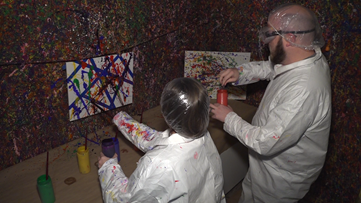 Splatter Room offers unique experience for couples