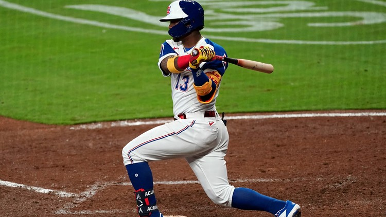 Acuña's 4 hits, including HR, lead Braves past Phillies 8-1