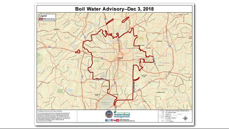 boil advisory dayton ohio map
