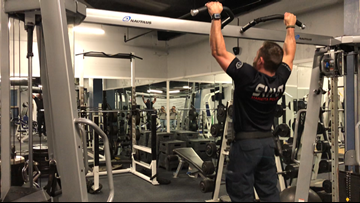 Marietta police benefitting from new workout facility