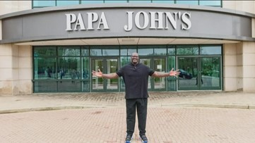 There's a Shaq branded Papa John's in Atlanta now