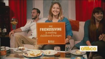 Friendsgiving for No Kid Hungry