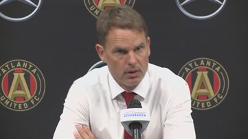 Frank de Boer says Atlanta United must adjust to being 'the hunted' in MLS circles