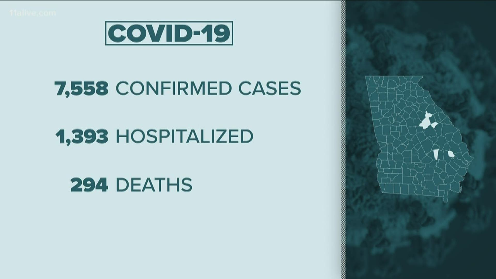 Coronavirus Georgia   Live updates on