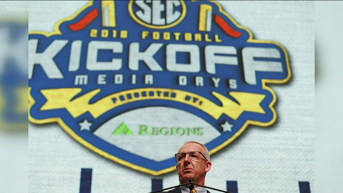 SEC commish on future of college football, media days