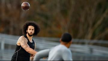 'I've been ready, I'm staying ready': Colin Kaepernick speaks after metro Atlanta workout