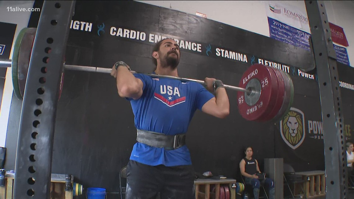 U.S. weightlifters preparing  for Olympics in Suwanee