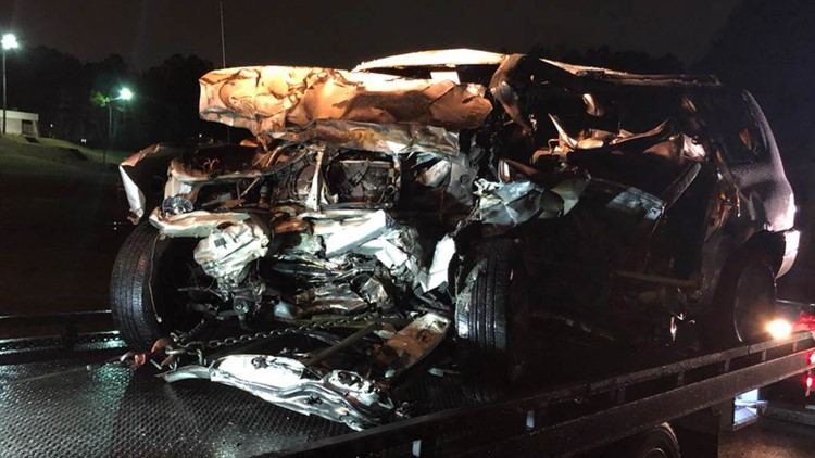 Two dead after SUV crash