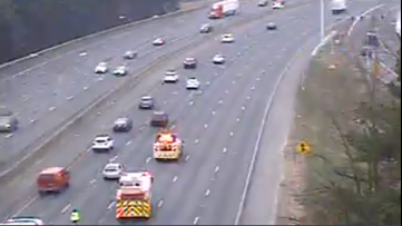 Wreck on I-75 SB in Cobb Co. causing major delays near 120 Loop