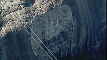Stone Mountain is closed ahead of Super Bowl due to security concerns