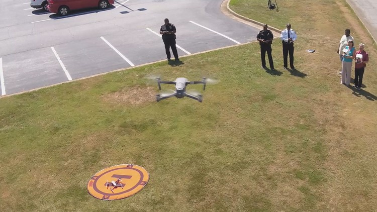 School Security Clayton County Drones