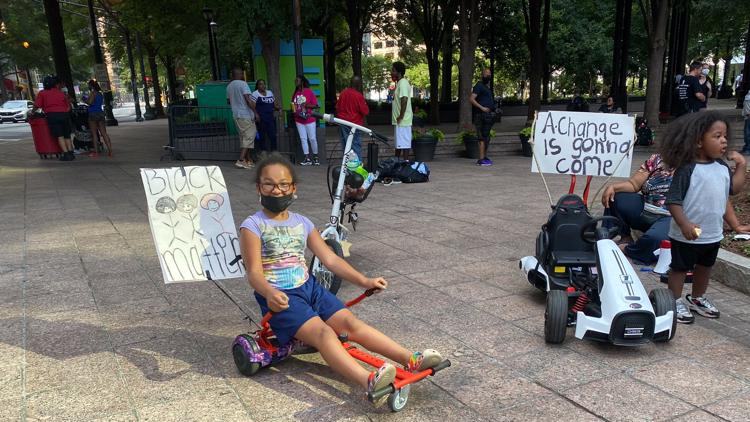 Activists still pushing for reform and justice one year after protests around metro Atlanta