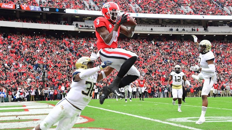 College Football Here S How Uga Could Make The Playoff With Two Losses 11alive Com