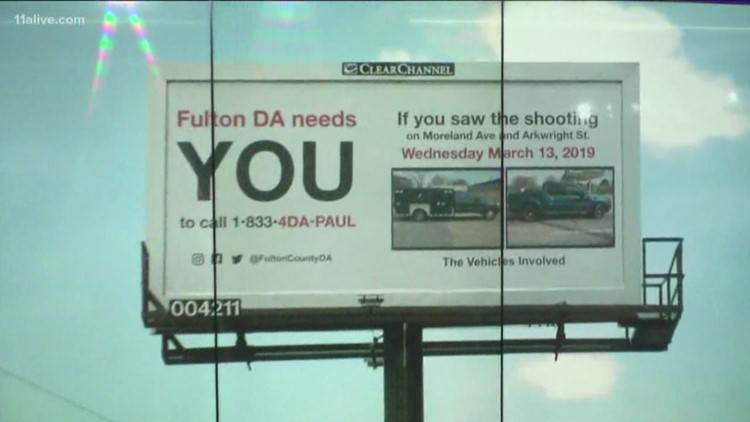 Billboards created asking witnesses to share information about police shootings