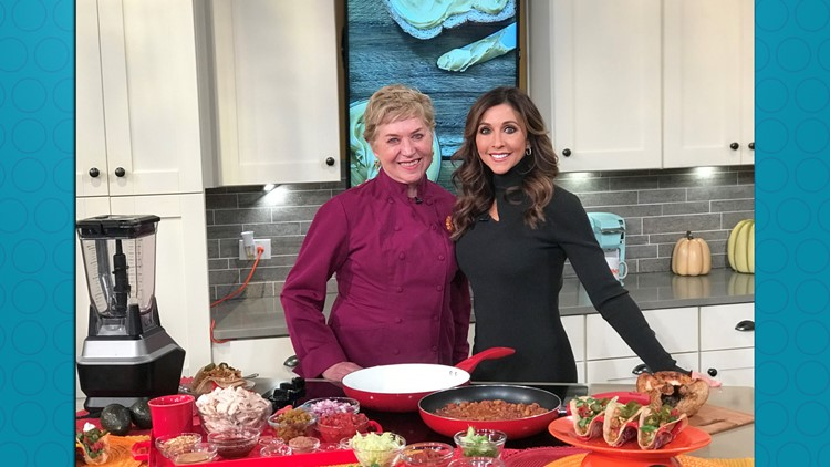 Chef Nancy Waldeck and Christine Pullara