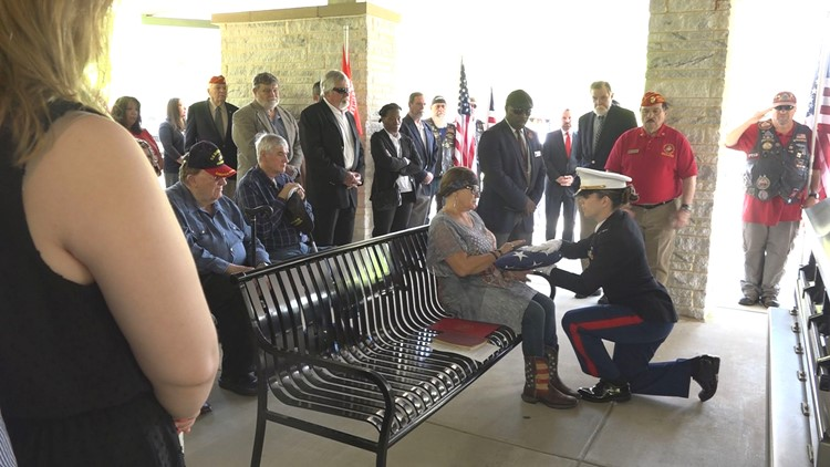 Lt. Butterfield honored in unclaimed veteran funeral