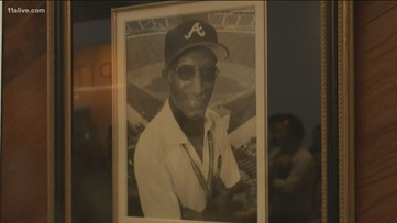 He's worked as a Braves usher for more than 50 years. They're celebrating his 80th birthday!
