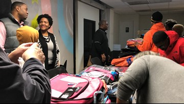 East Point initiative helps students with supplies as they return from winter break