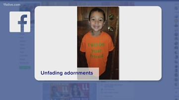 Boy wears 'I will be your friend' shirt on first day of school