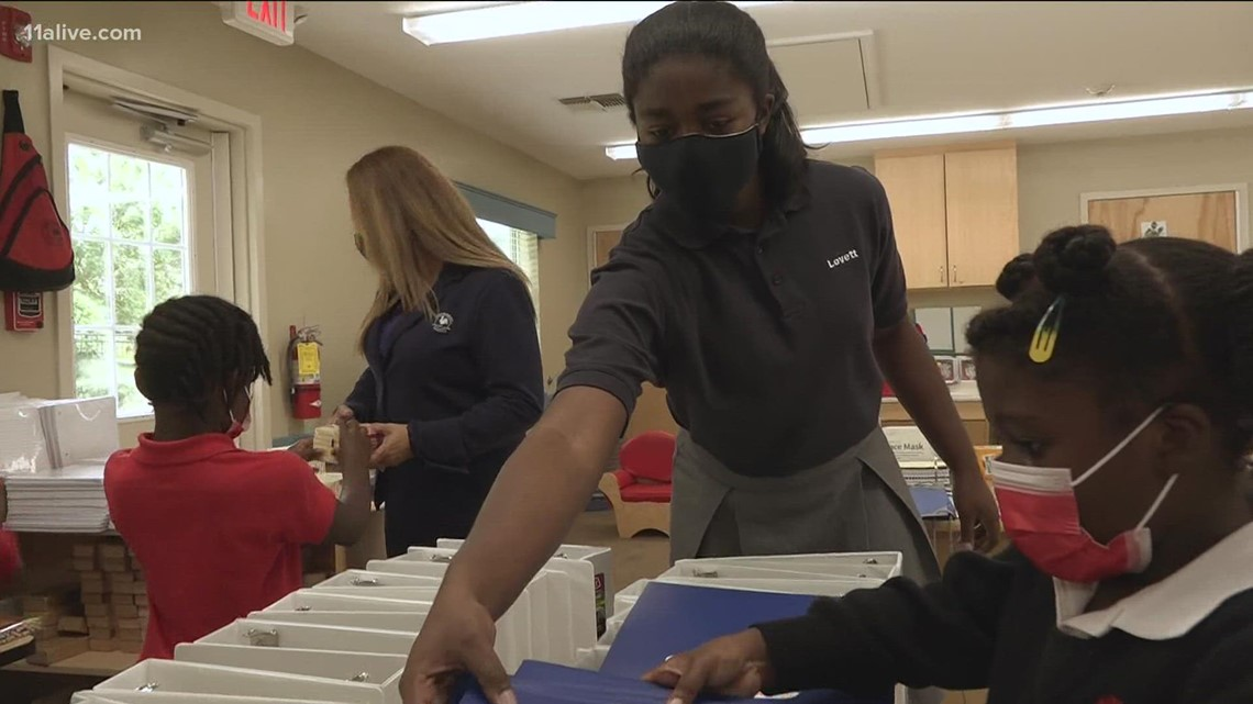 Cobb County teen uses birthday to collect school supplies for local middle school